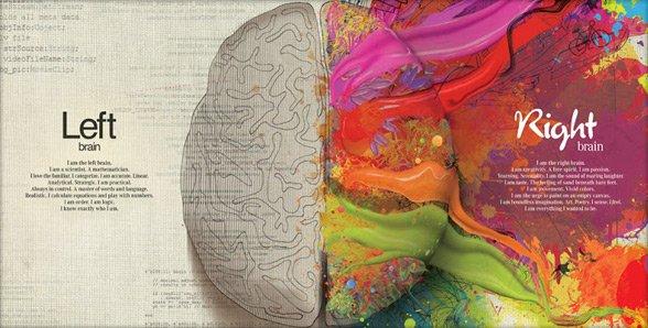 Psicologia dei colori nel sito Evermind, #infografica