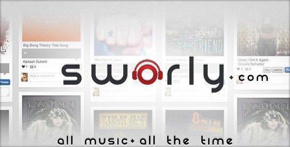 Sworly – Pinterest per la tua musica