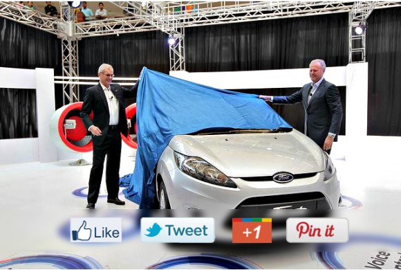 Ford Fiesta Social Party - unveiling