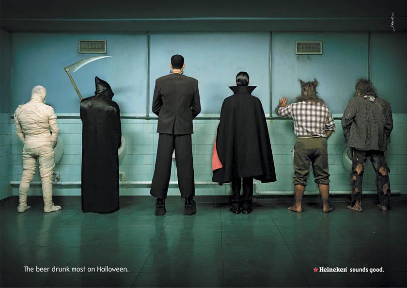Halloween Marketing heineken-halloween-monsters