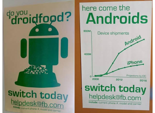 Facebook-wants-android-over-iphone