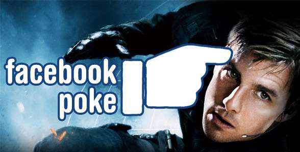 Facebook Poke Tom Cruise