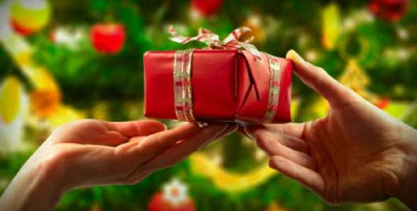 Regali di natale vuoto creativo - Immagine di regali di natale ...
