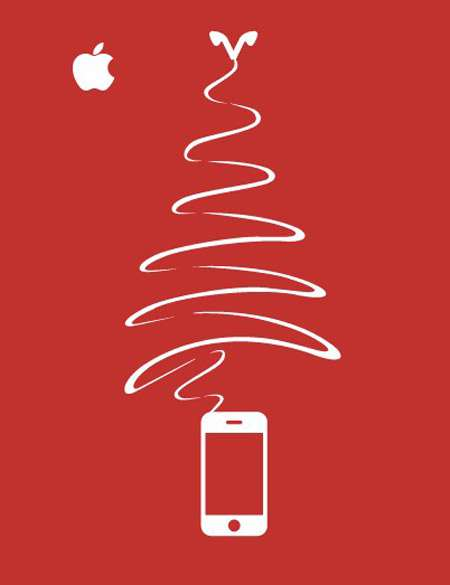 xmas-advertising-apple-iphone