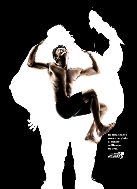 Gym Advertising fat escape 01