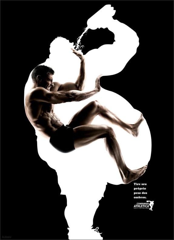 Gym Advertising fat escape 03