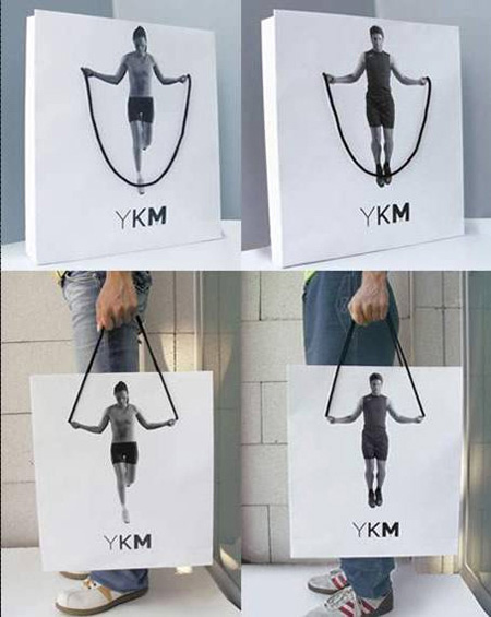 Gym Advertising rope jumping bag