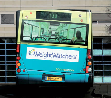 Gym Advertising-weight watchers