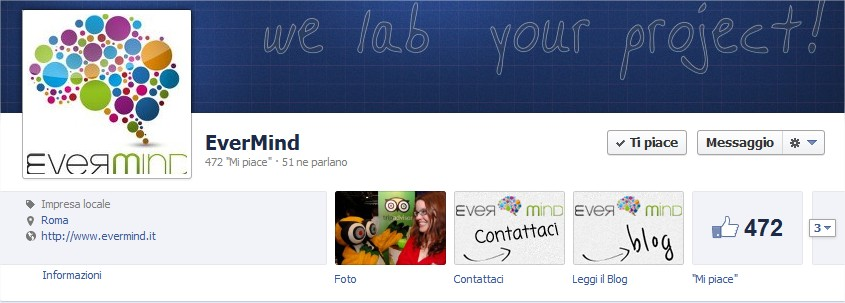 tab personalizzate pagina facebook