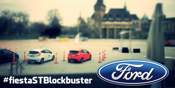Come rendere Social un evento – l'esperienza Fiesta ST BlockBuster