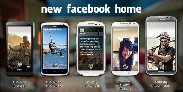 Facebook Home, non un'app ma uno stato mentale