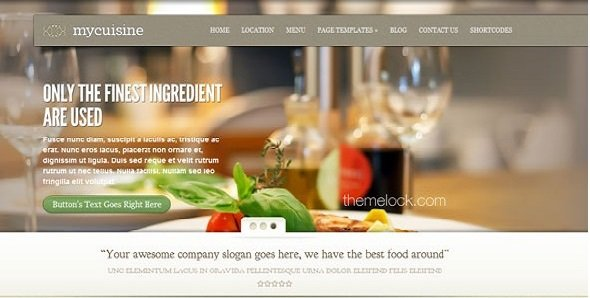 siti web per ristoranti