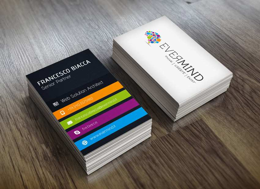 Evermind Business Card