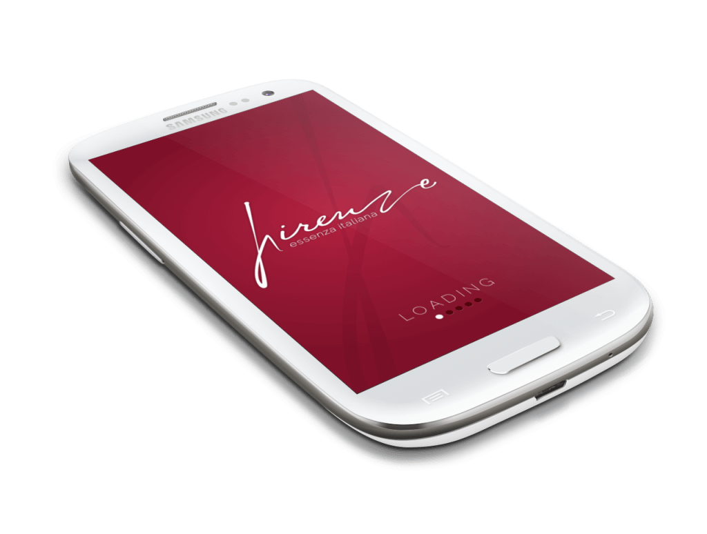 Simulazione Logo di Firenze su App