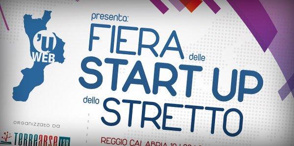 Materiale promozionale per la prima Fiera delle Start Up dello Stretto