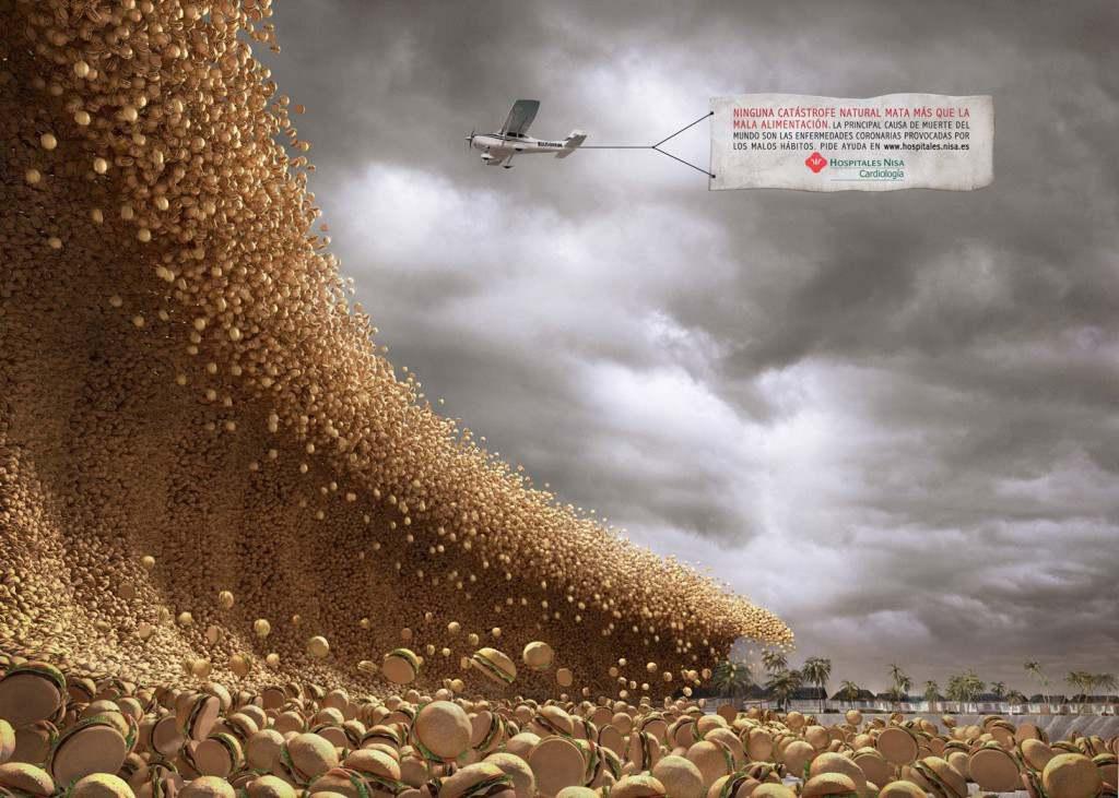 Nessuna catastrofe naturale uccide come la cattiva alimentazione