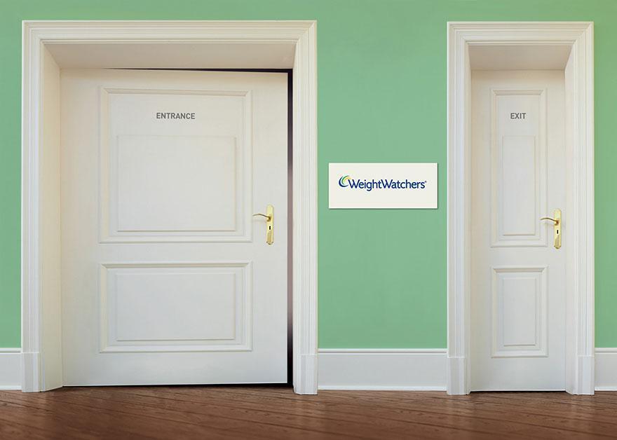 Entrata e uscita, creatività