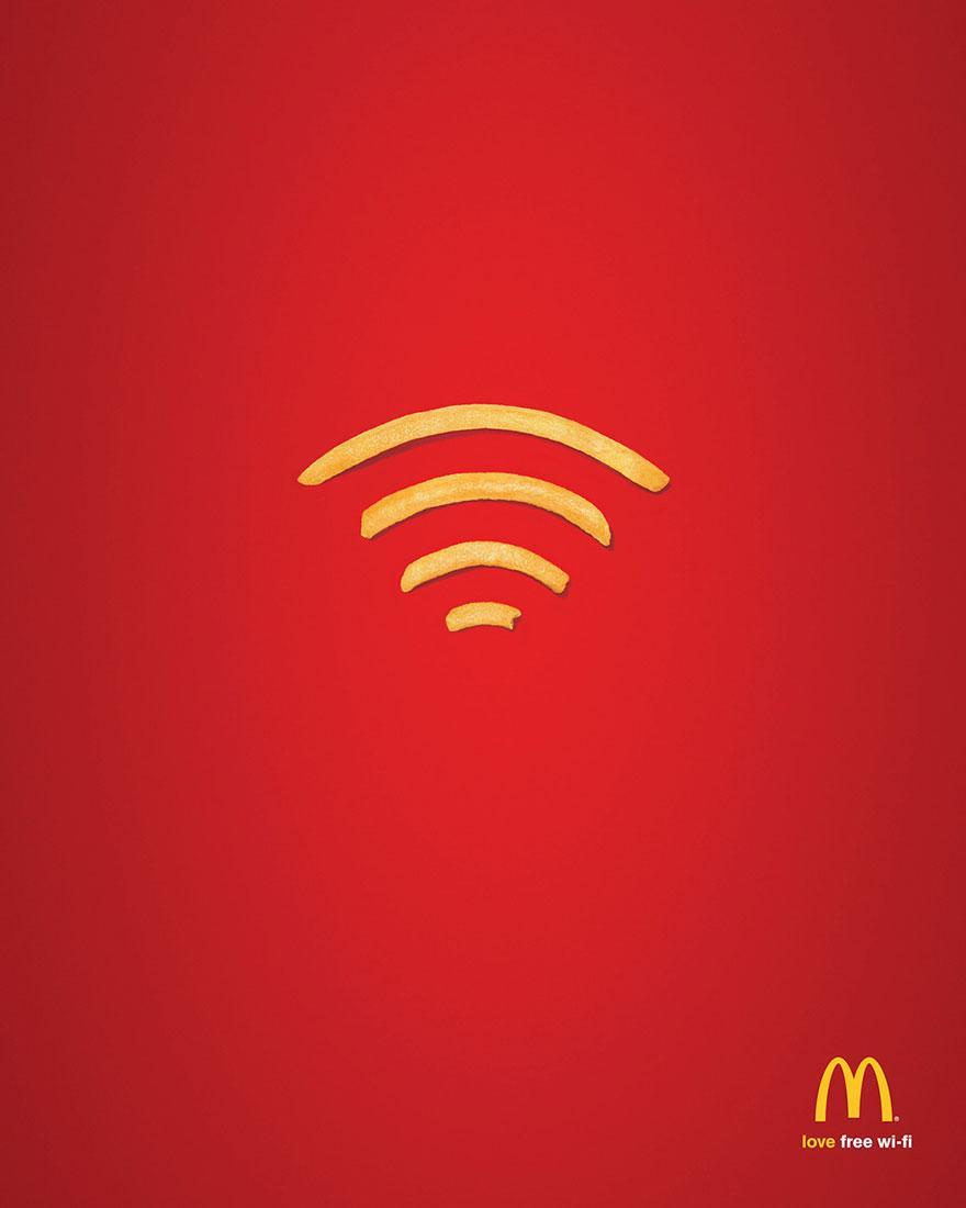 Mc donadls free wi-fi