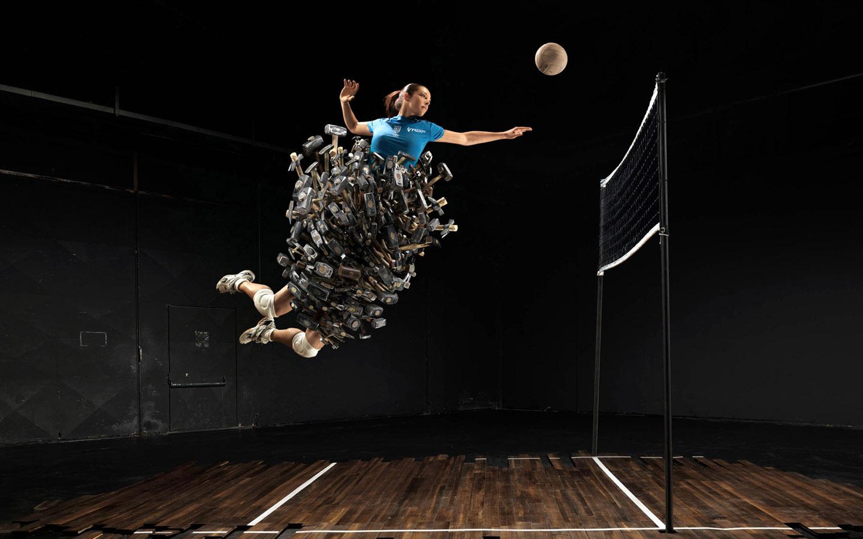 creatività pallavolo