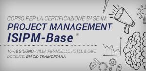 Corso per la certificazione base in Project Management ISIPM-Base®