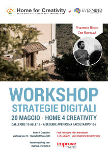 Evermind_Workshop_StrategieDigitali_Home4Creativity_Locandina