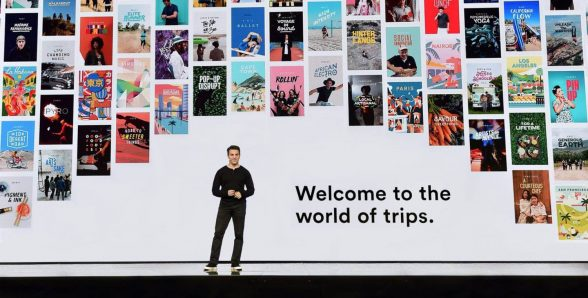 'Until now, Airbnb has been about homes,' said Brian Chesky, Airbnb CEO.