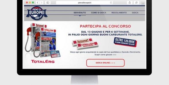 Corriere dello Sport – Pieno di Europei – Sito web