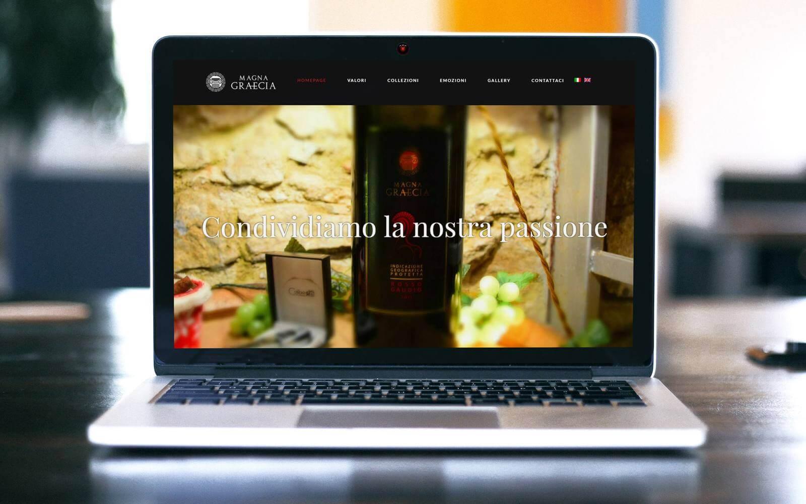 MagnaGraecia Vini – Sito web WordPress