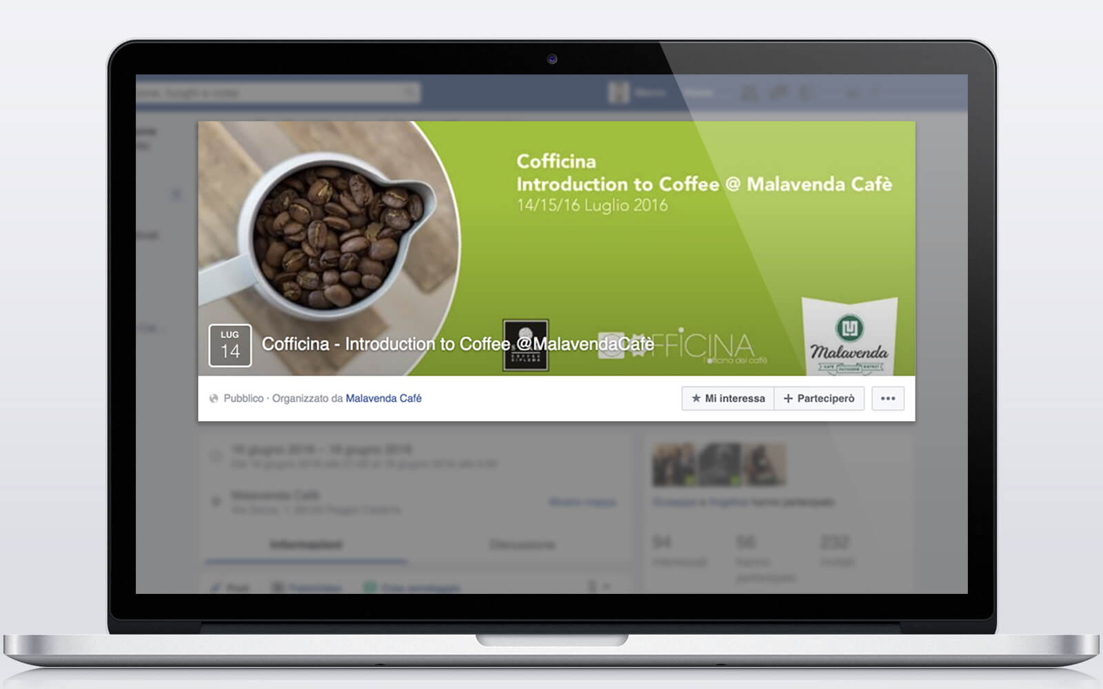Malavenda Cafè – Strategie digitali – Sito web WordPress