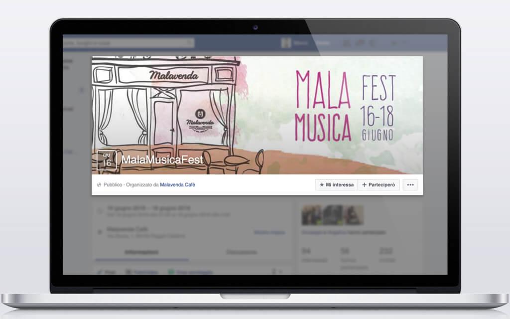 Maleveda Cafè-sito-web-brand-identity