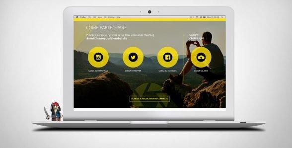 Metti in mostra la Lombardia – concorso fotografico – sito web WordPress