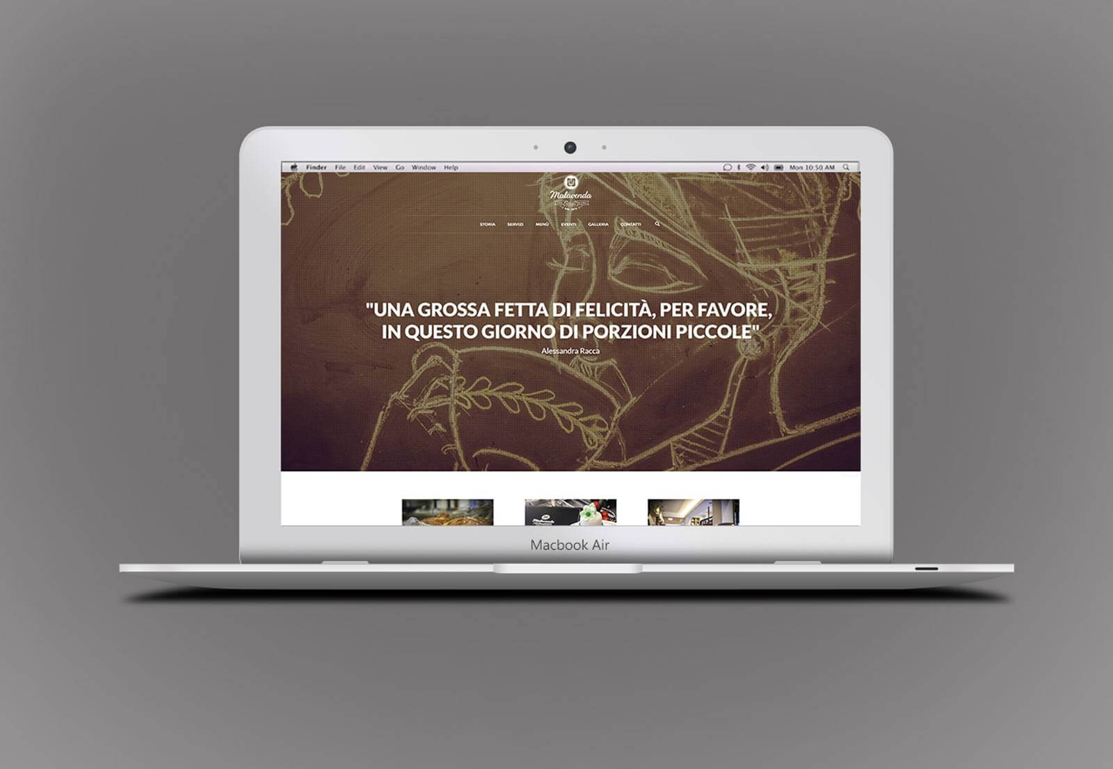 Malavenda Cafè – Strategie digitali – Sito web WordPress