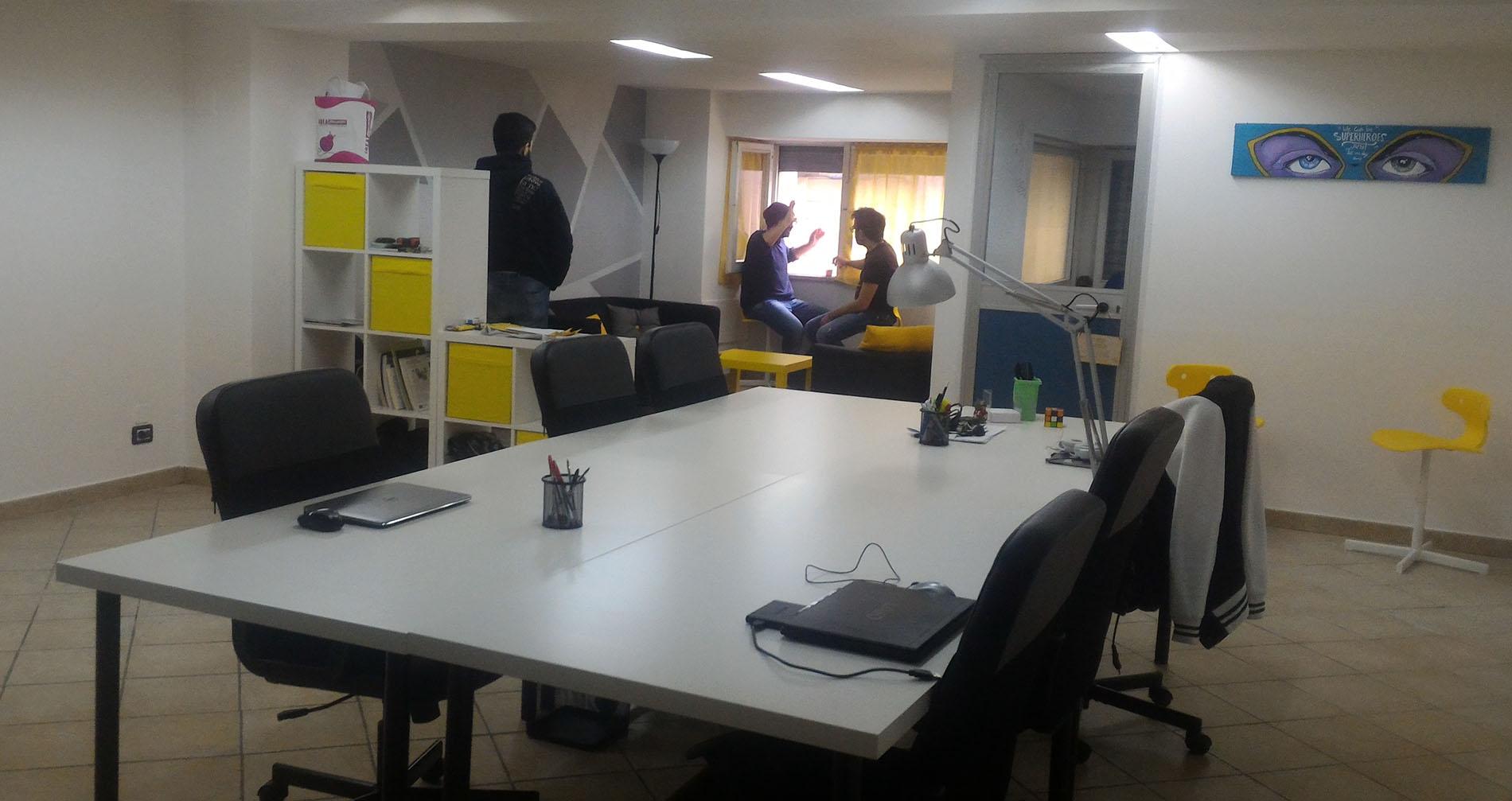 La sede fisica in un network liquido di smart worker