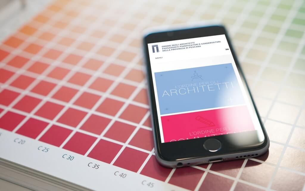 sito-mobile-ordine-architetti-pescara-evermind