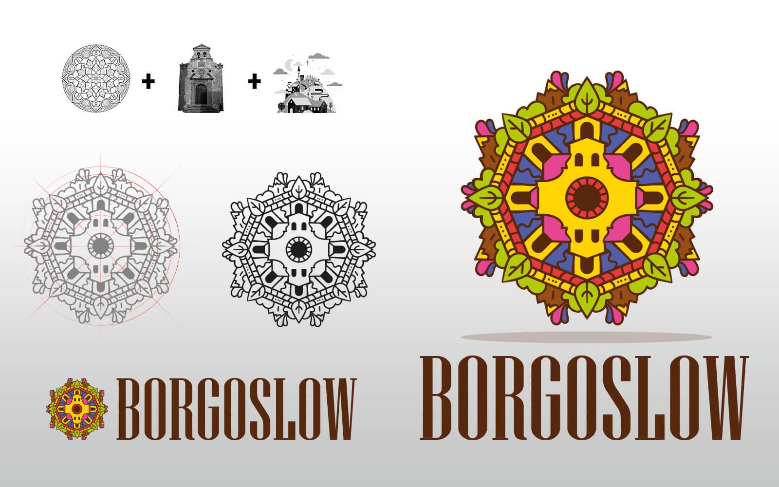 BorgoSlow – Brand Identity