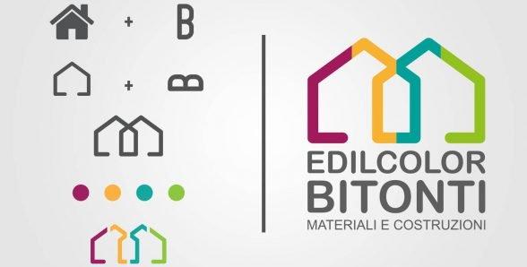 Edilcolor Bitonti-come costruire un logo