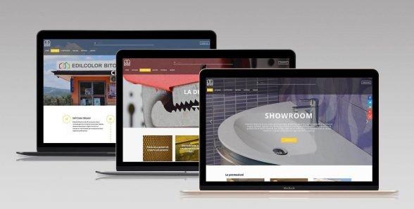 Edilcolor Bitonti – Sito web