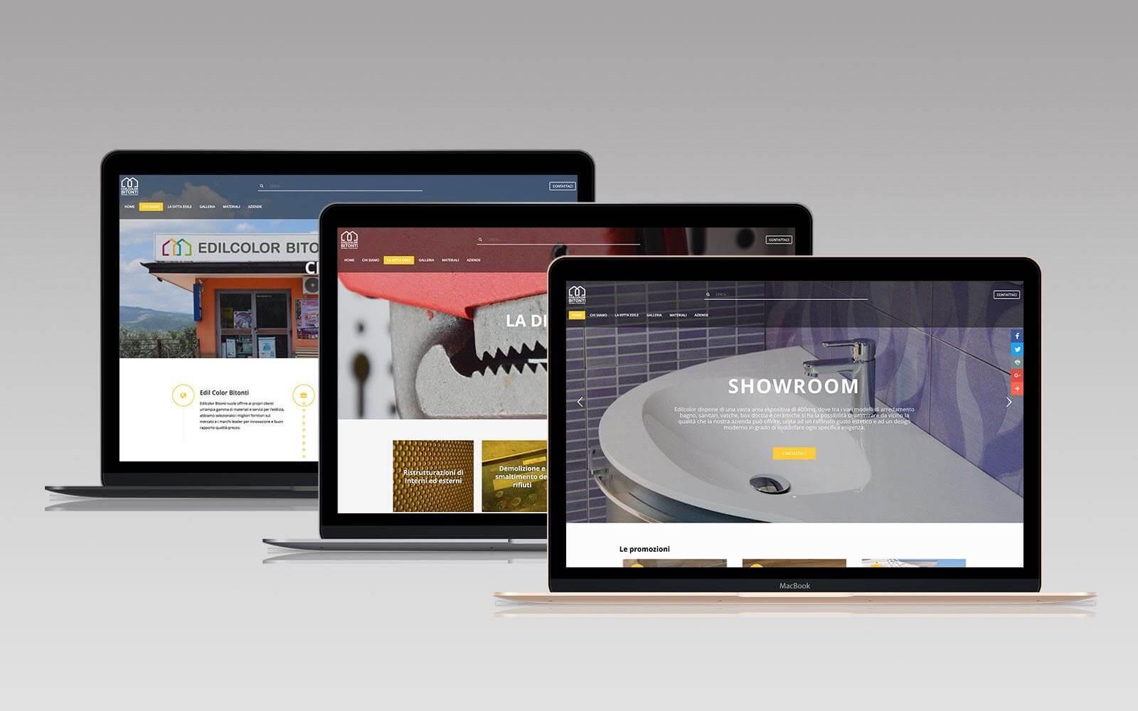 Edilcolor Bitonti-il sito web