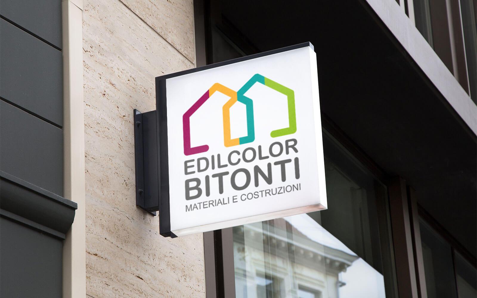 Edilcolor Bitonti – Brand identity