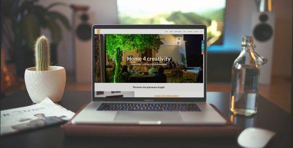 Home 4 Creativity – Sito web