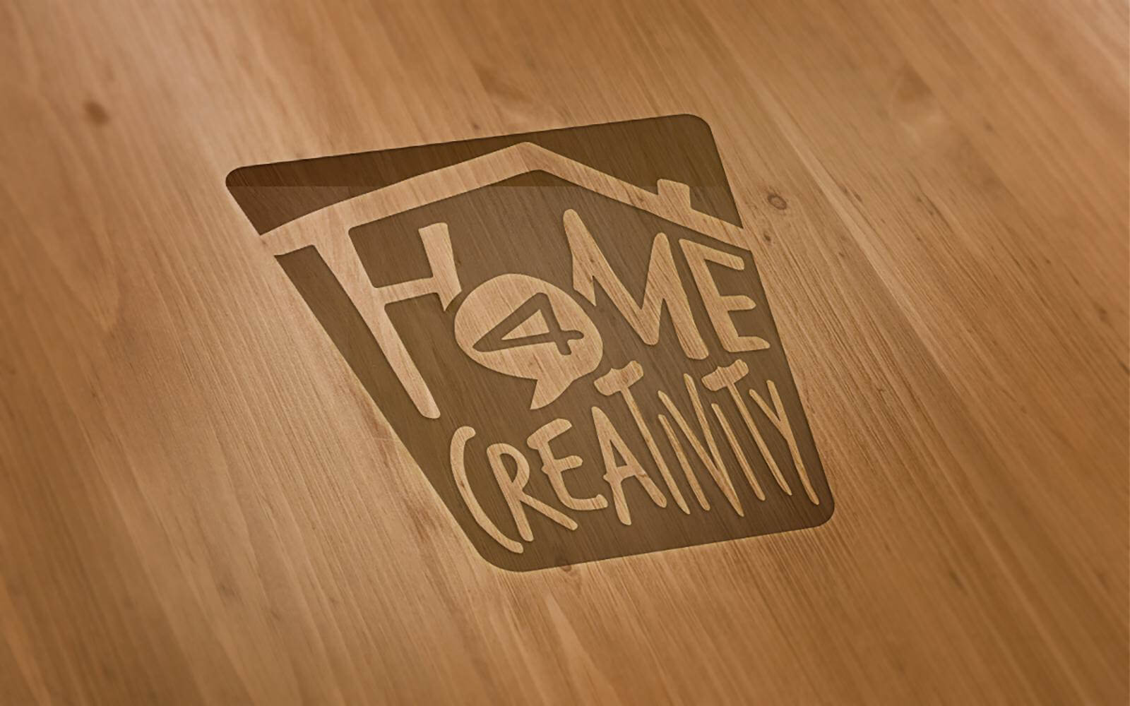 Home 4 Creativity – Brand Identity