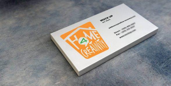 Creatività e colore per il logo di Home 4 Creativity