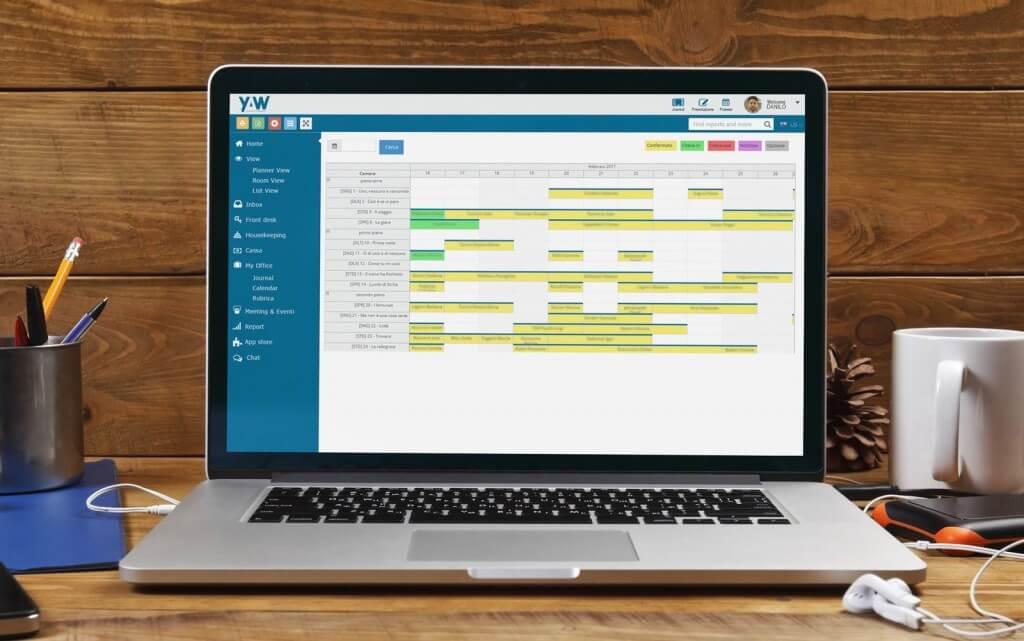 YAW-gestionale-hotel-b&b-planner digitale