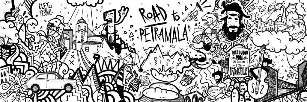 roadtopetramala-diario-di-viaggio-illustrato-cleto-festival-riassuntone