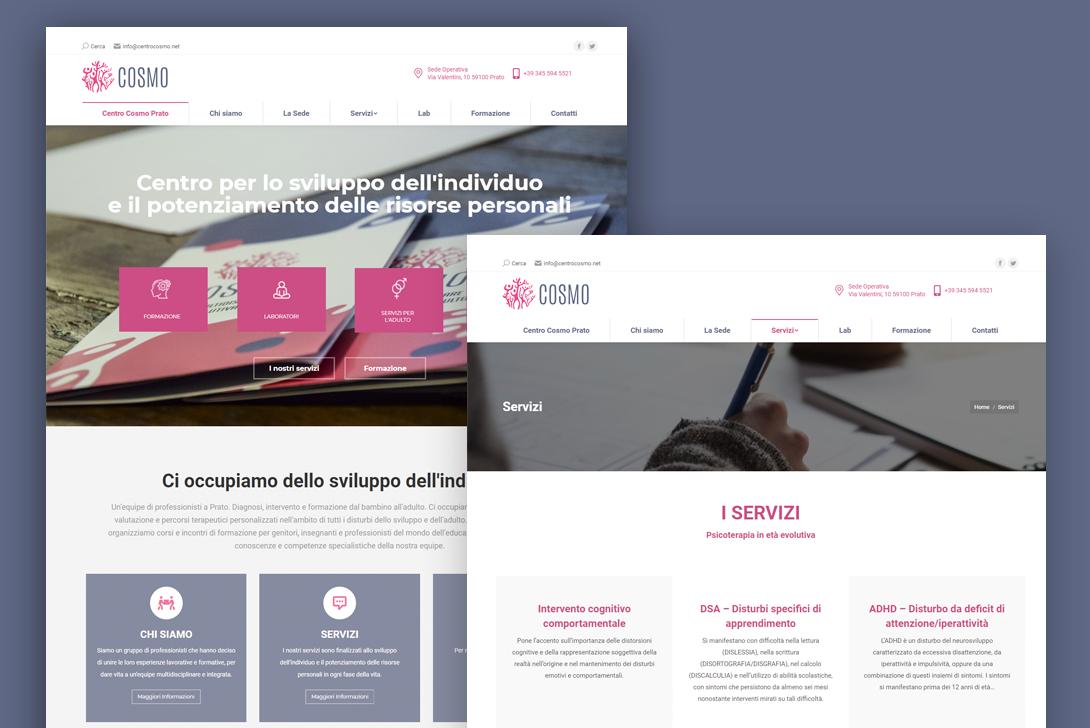 Cosmo – Brand Identity e Sito Web